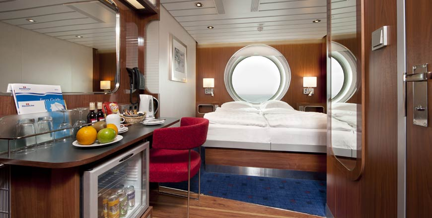 Luxe hutten Stena Line ferry Stena Hollandica