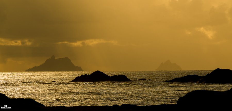 Skellig Michael in Ierland
