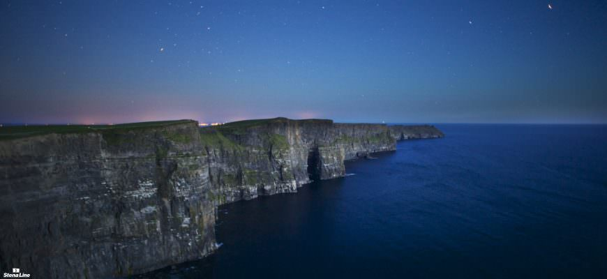 Cliffs of Moher langs de Wild Atlantic Way
