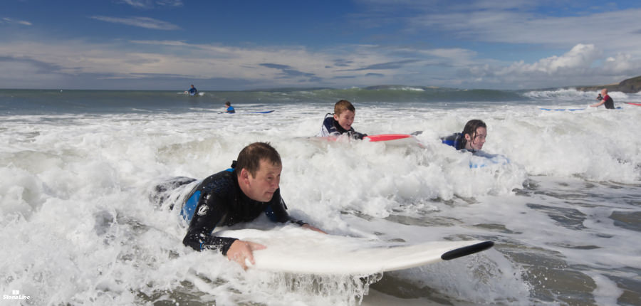 Surfkust in Ierland langs de Wild Atlantic Way