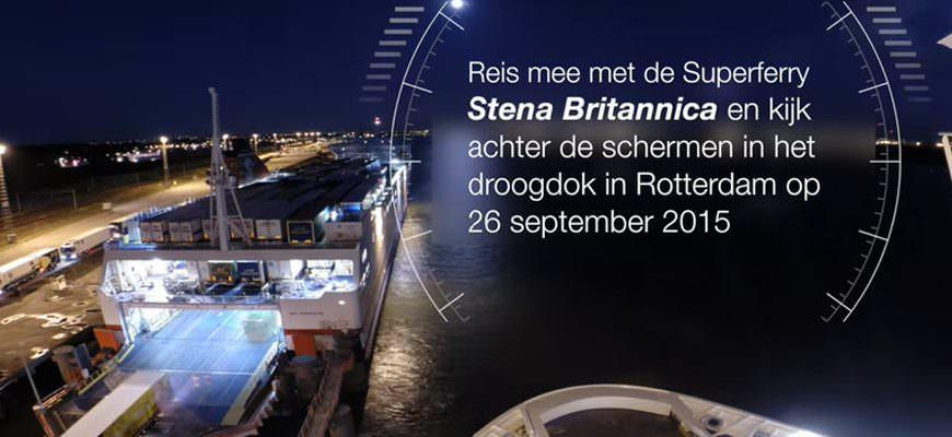 Achter de schermen timelapse droogdok Stena Britannica