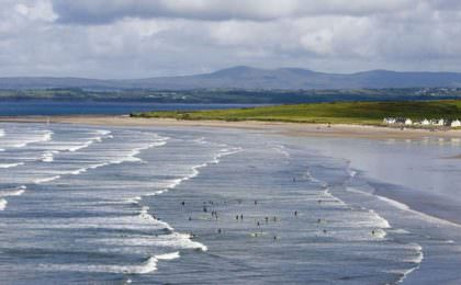 Rossnowlagh strand Ierland