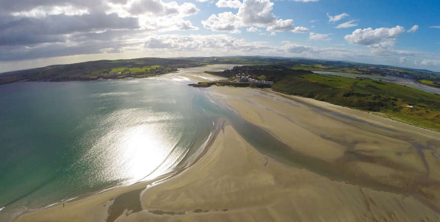 Inchydoney strand Ierland