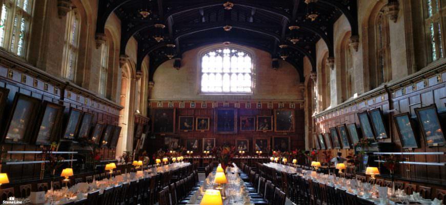 Harry Potter filmlocatie Oxford - Christ Church College Ante-hall