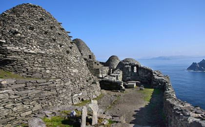 Skellig Michael filmlocatie Star Wars