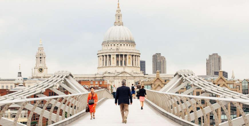 Millenium Bridge in Londen