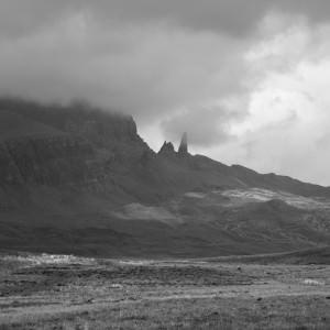 Berg op het eiland Skye.