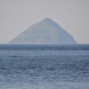 Uitzicht op het eiland Arran.