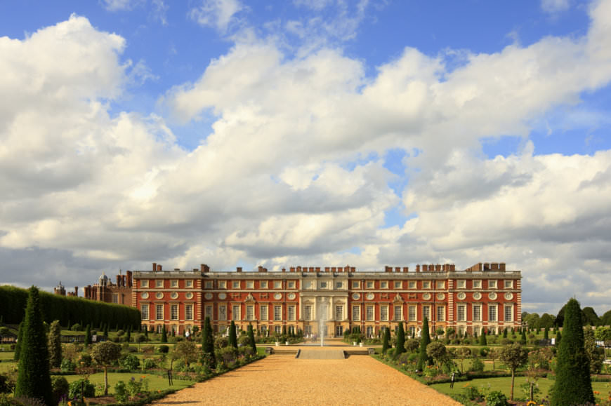 Hampton Court in Windsor