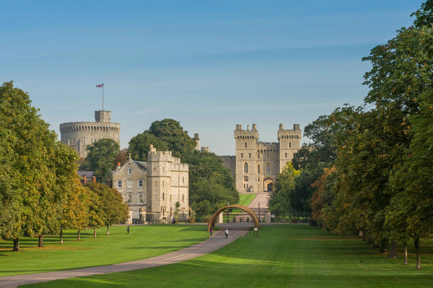 Windsor Castle - © Douglas Harding
