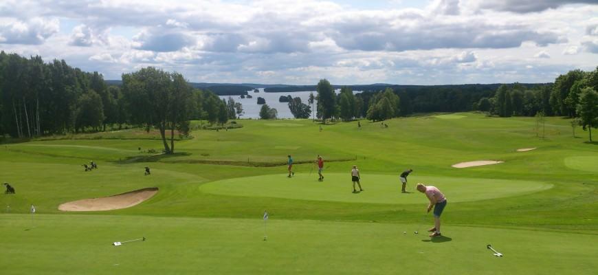 Golfbaan in Zweden