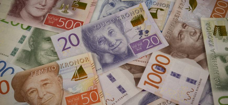 Nieuwe bankbiljetten en munten in Zweden