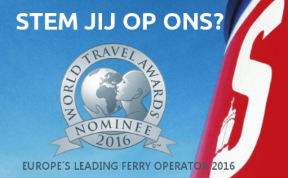 Stem op Stena Line als Europe's Leading Ferry Operator 2016!