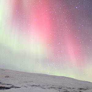 Het noorderlicht (ofwel Aurora Borealis) in Zweden.