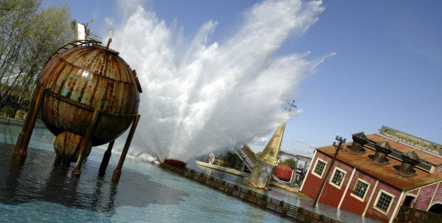 Tidal Wave Ride in Thorpe Park.