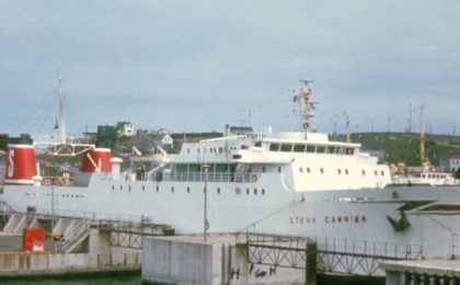 Stena Carrier in Noord-Sydney