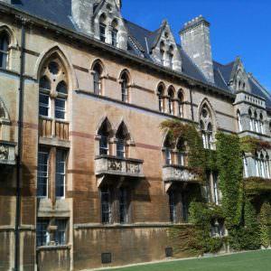 Christchurch college in Oxford