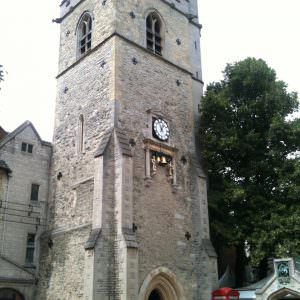 St Martin's Tower (ook wel Carfax Tower) in Oxford
