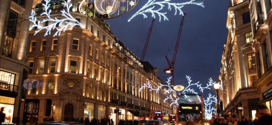 Londens kerstverlichting: waar en wanneer?