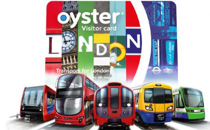 Visitor Oyster Card Londen