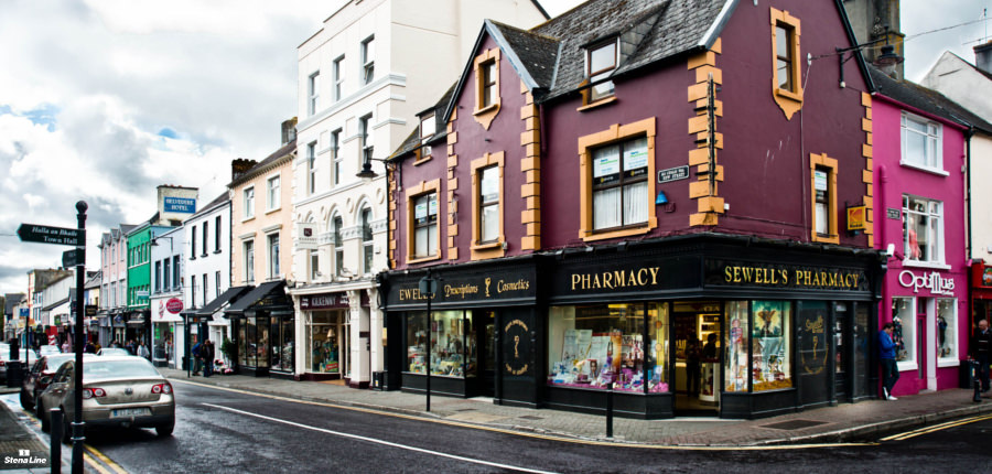 Killarney in Ierland, start- en eindpunt van de Ring of Kerry