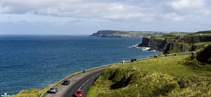Causeway Coastal kustroute in Noord-Ierland