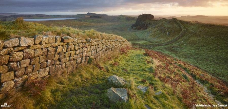 Hadrian's Wall - UNESCO Werelderfgoed in Engeland