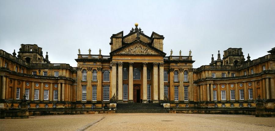 Blenheim Palace in Engeland