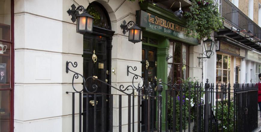 Sherlock Holmes in Londen