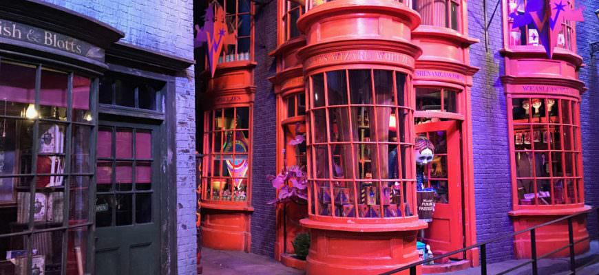 Wegisweg tovenaarswinkelstraat Harry Potter
