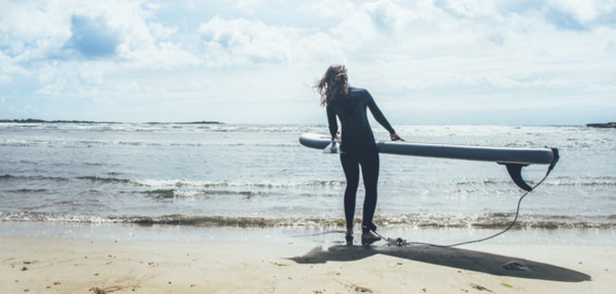 Surfen op reis! Eén van de reistrends in 2017 is reizen als levensttijl