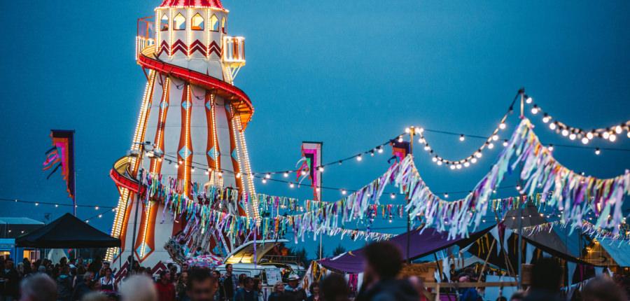 Entertainment bij het Big Feastival