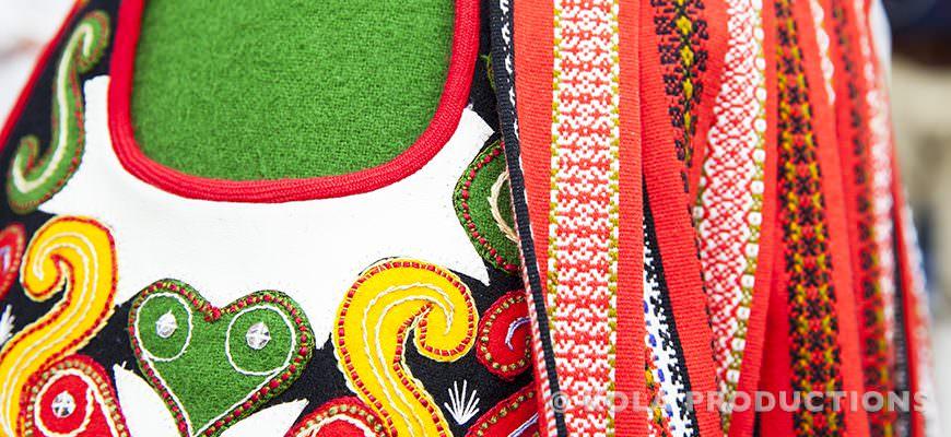 Traditionele midzomer kleding