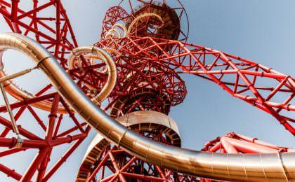 Glijbaan Londen the Slide op de ArcelorMittal Orbit toren