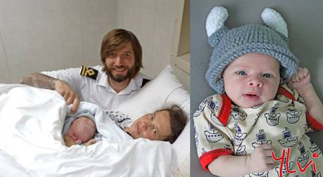 Ylvi geboren