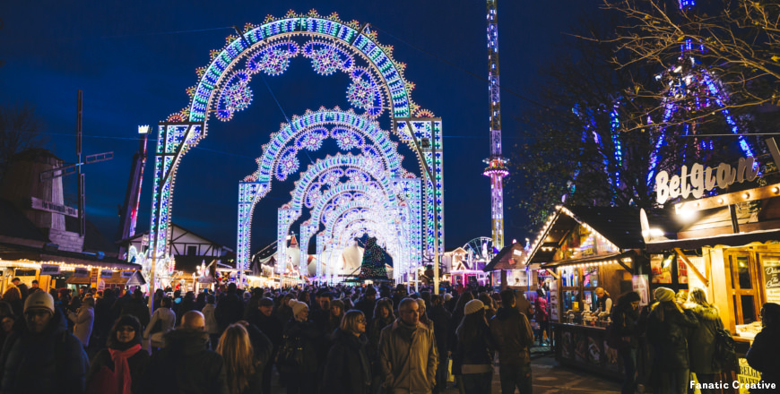 Hyde Park Winter Wonderland Londen - Fanatic Creative