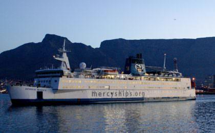 Africa Mercy van Mercy Ships