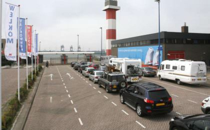 Inchecken Hoek van Holland Stena Line