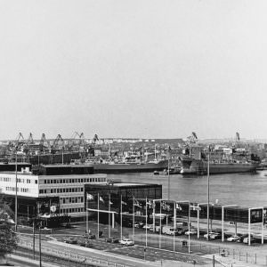 Stena Line's Masthuggsterminal in 1972