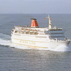 Stena Olympica op zee in 1975