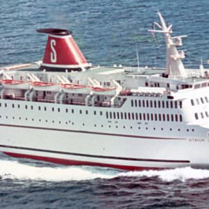 Stena Olympica in 1972 na oplevering