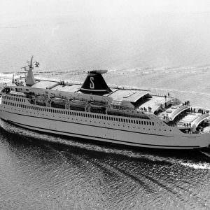 Stena Olympica op zee
