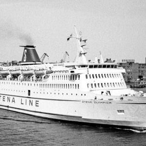 Stena Olympica in Göteborg op 1976