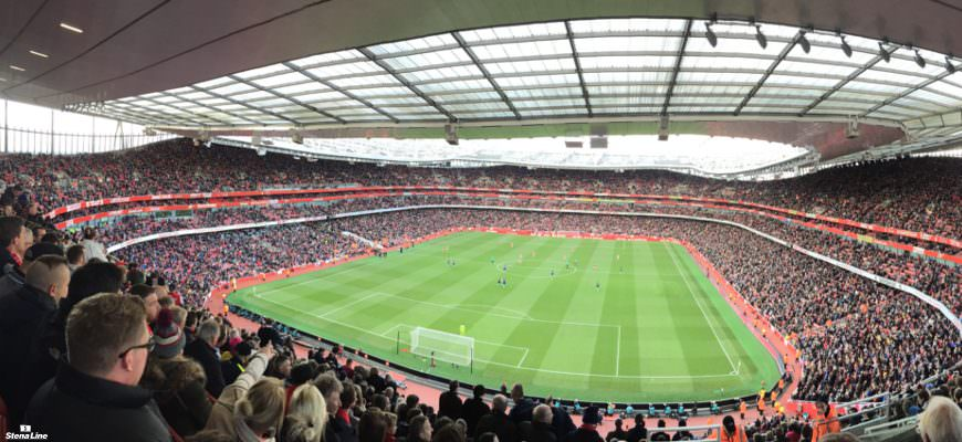 Arsenal stadion in Londen