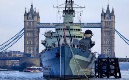 HMS Belfast in Londen