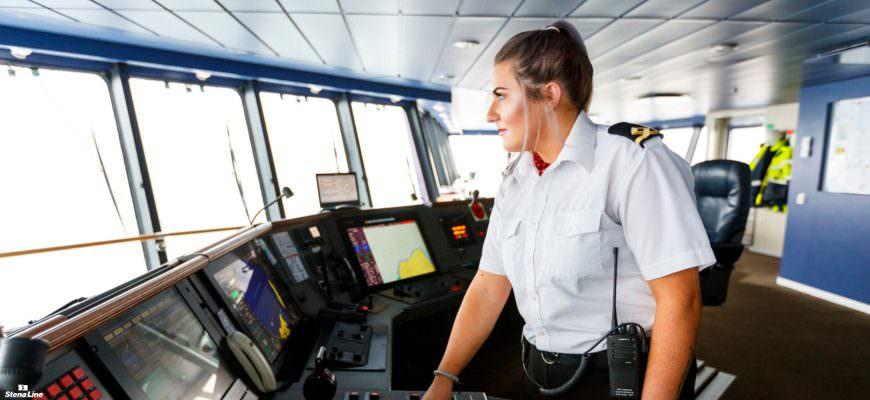 Vrouwen in de scheepvaart