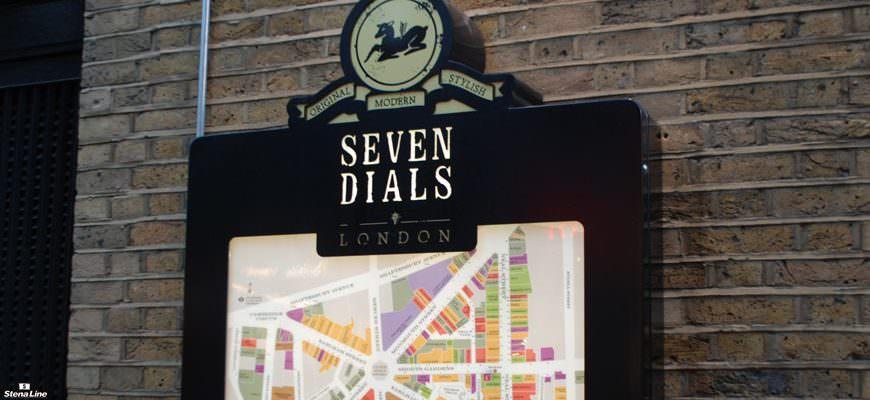 Shoppen in Londen: Seven Dials