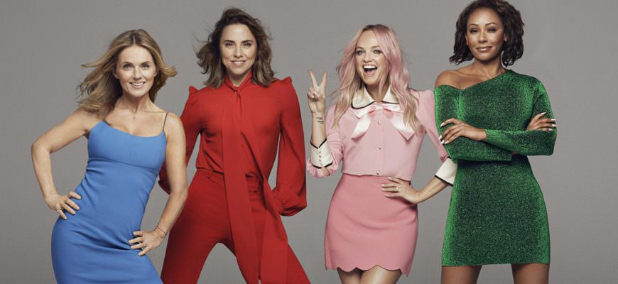 Spice Girls tour 2019 in Engeland