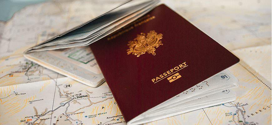 Paspoort-en-kaart