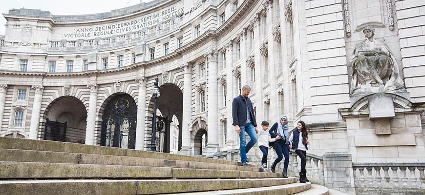 Shoppen met kinderen in Londen